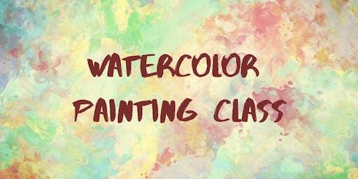 Watercolor  Class (Adult & YA)