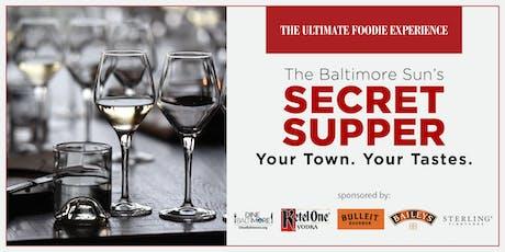 The Baltimore Sun's Secret Supper tickets