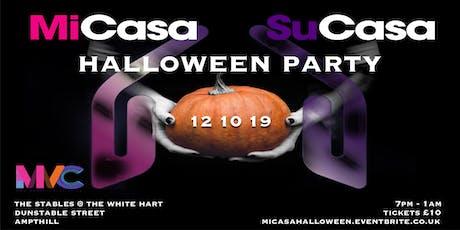 MiCasa SuCasa - Halloween Party tickets