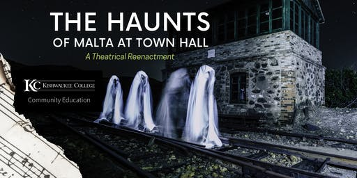 The Haunts of Malta at Town Hall
