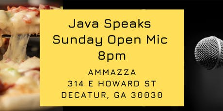 Java Speaks Open Mic tickets