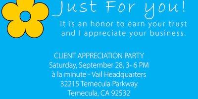 Client Appreciation Party at a la minute Vail Headquarters