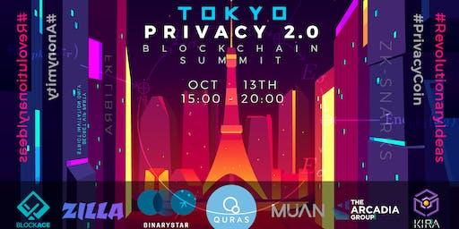 Tokyo Privacy 2.0  Blockchain Summit  privacysummit.tokyo