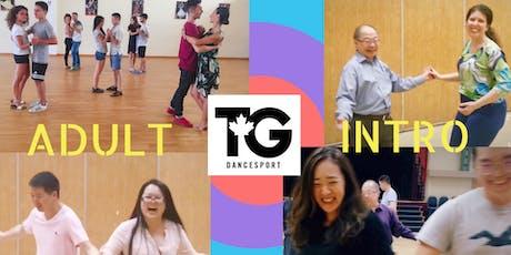 TGDancesport Adult Intro Ballroom Dance Class tickets