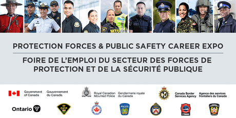 Protection Forces & Public Safety Career Expo billets