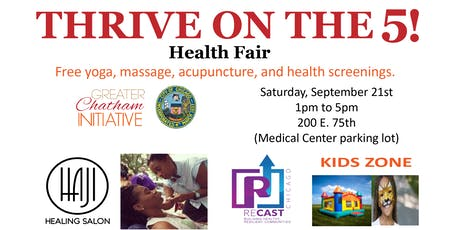 THRIVE ON THE 5 - Greater Chatham Health Day tickets