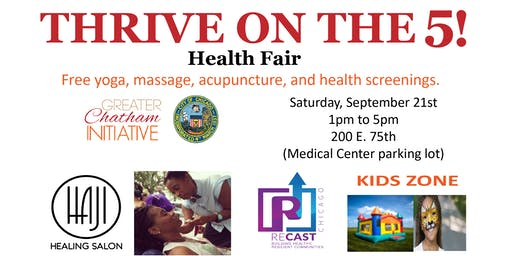 THRIVE ON THE 5 - Greater Chatham Health Day