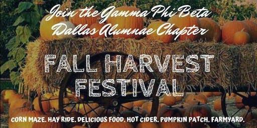 Harvest Festival with Gamma Phi Beta Dallas Alumnae Chapter