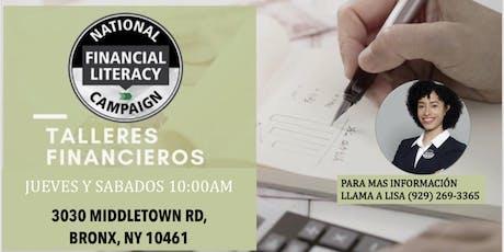TALLERES FINANCIEROS GRATUITOS tickets