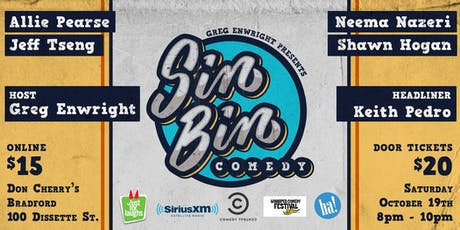Sin Bin Comedy Show # 46 & 47 tickets