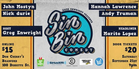 Sin Bin Comedy Show #45 tickets