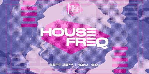 HOUSE FREQ // Freshers Basement 6am Rave