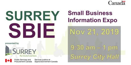 Surrey Small Business Information Expo (SBIE) 2019 tickets