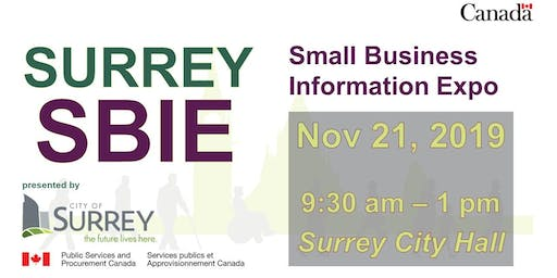 Surrey Small Business Information Expo (SBIE) 2019