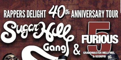 Sugarhill Gang x Furious 5's Grandmaster Mele Mel & Scorpio