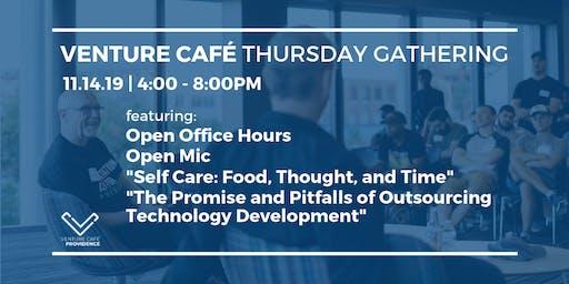 Venture Café Thursday Gathering
