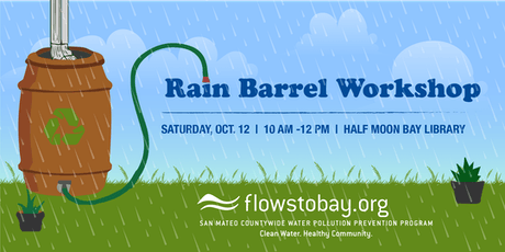 Rain Barrel Workshop with Flows to Bay tickets