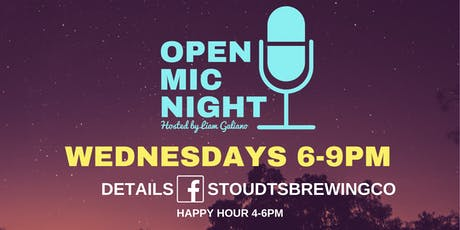 Stoudts Open Mic Night with Jeff O'Donnell tickets