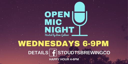 Stoudts Open Mic Night with Jeff O'Donnell