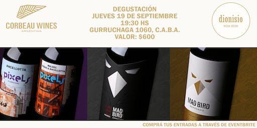 Degustación Corbeau Wines