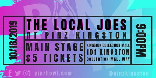 Local Joes at PiNZ LIVE
