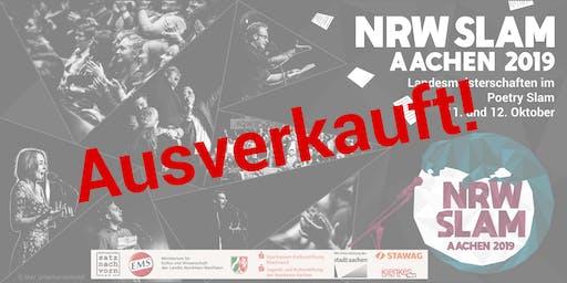 NRW Slam 2019 - Vorrunde 4 *ausverkauft*