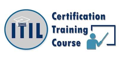 ITIL Foundation Certification Training in Spokane, WA