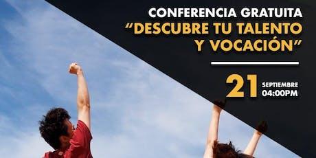 Descubre tu talento y vocación en Lima entradas