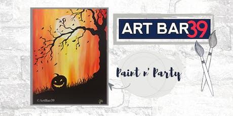 Paint & Sip | ART BAR 39 | Public Event | Pumpkin Patch tickets