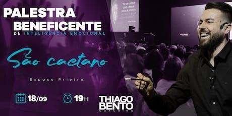 PALESTRA BENEFICENTE DE INTELIGÊNCIA EMOCIONAL EM SÃO CAETANO - SP 18/09/19 ingressos