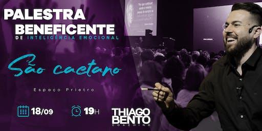 PALESTRA BENEFICENTE DE INTELIGÊNCIA EMOCIONAL EM SÃO CAETANO - SP 18/09/19