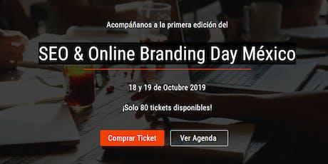 SEO & Online Branding Day México boletos