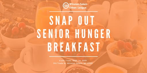 SNAP Out Senior Hunger Breakfast