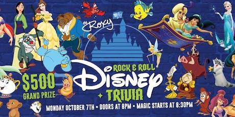 Rock & Roll Disney & Trivia tickets