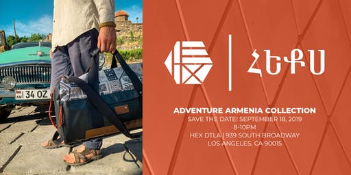 Launch of Hex's Adventure Armenia collection