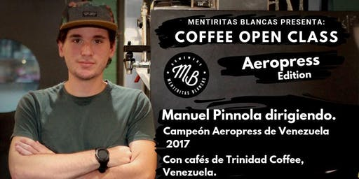 Coffee Open Class: Aeropress edition