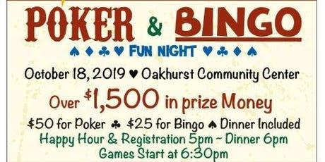 5th Annual Poker and Bingo Fun Night presented by Oakhurst Sierra Rotary tickets
