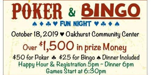 5th Annual Poker and Bingo Fun Night presented by Oakhurst Sierra Rotary