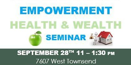 Empowerment Health & Wealth tickets