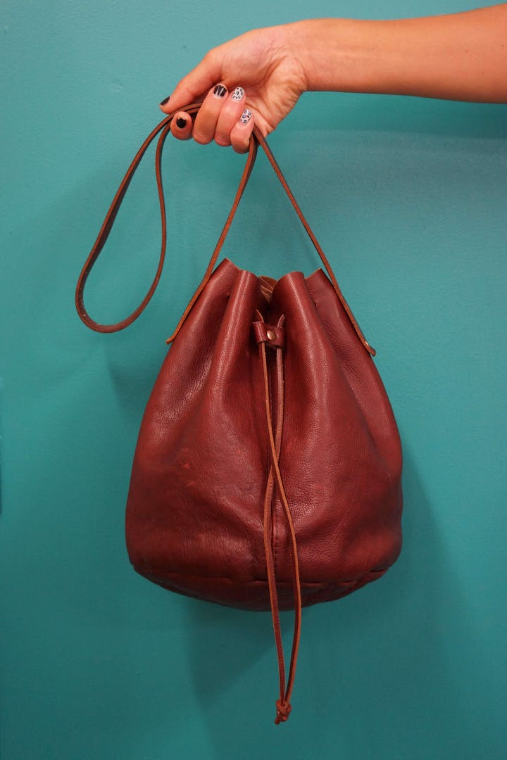 Make A Leather Bag In Day 22nd January
