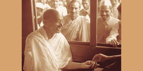 """Filmosofía: """"Gandhi: Una vida ejemplar"""" tickets"""