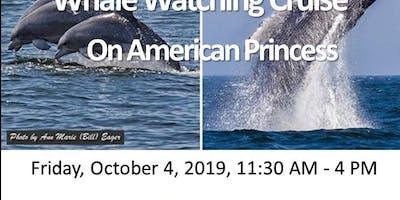NYWEA Metro ESC/LI Chapter Whale Watching Cruise