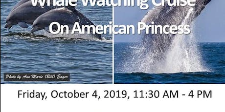 NYWEA Metro ESC/LI Chapter Whale Watching Cruise tickets