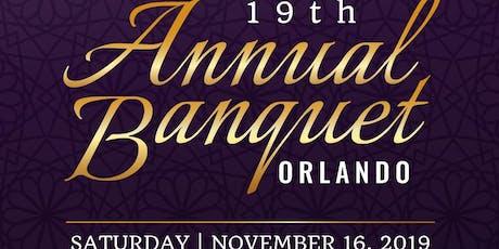 19th Annual Orlando Banquet tickets