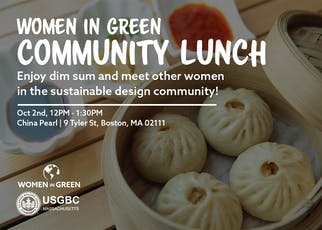 Women in Green: Community Lunch tickets