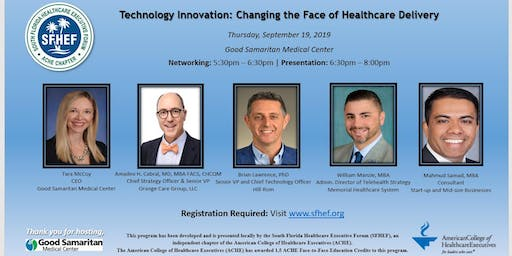 Technology Innovation: Changing the Face of Healthcare Delivery