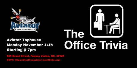 The Office Trivia at Aviator Taphouse tickets