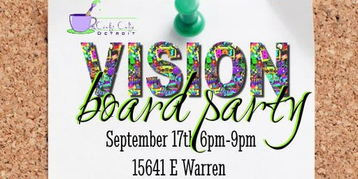 Free Vision Board Party