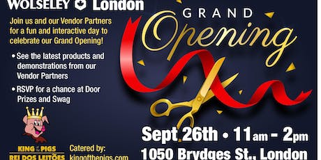 NEW London Branch Grand Opening Event tickets