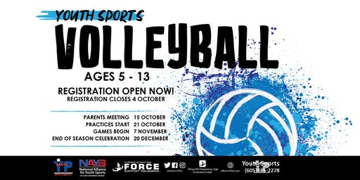 Volleyball - EAFB Youth Sports